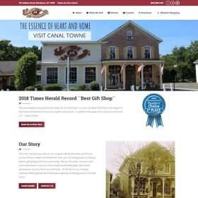 Canal Towne Emporium Website Development