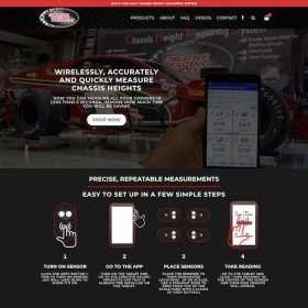 Creative Racing Website Design