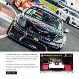 DeMan Motorsport Website