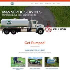 MS Septic Services Website