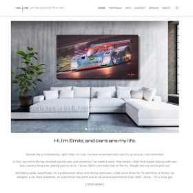 Emile Bouret Fine art website