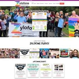 Zylofone Studios Website Design