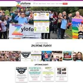 Zylofone Studios Website Design