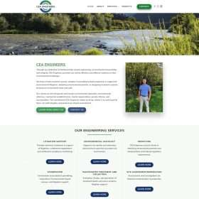 CEA Engineers Website Design