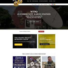 WTBQ Website Design