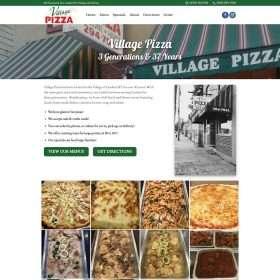 Village Pizza Goshen Website Design