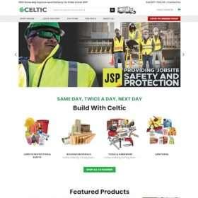 Celticbuildingsupplies-website design
