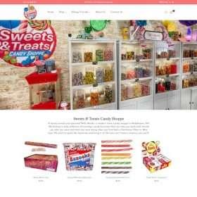 Sweettreatscandyshoppe-shopify design
